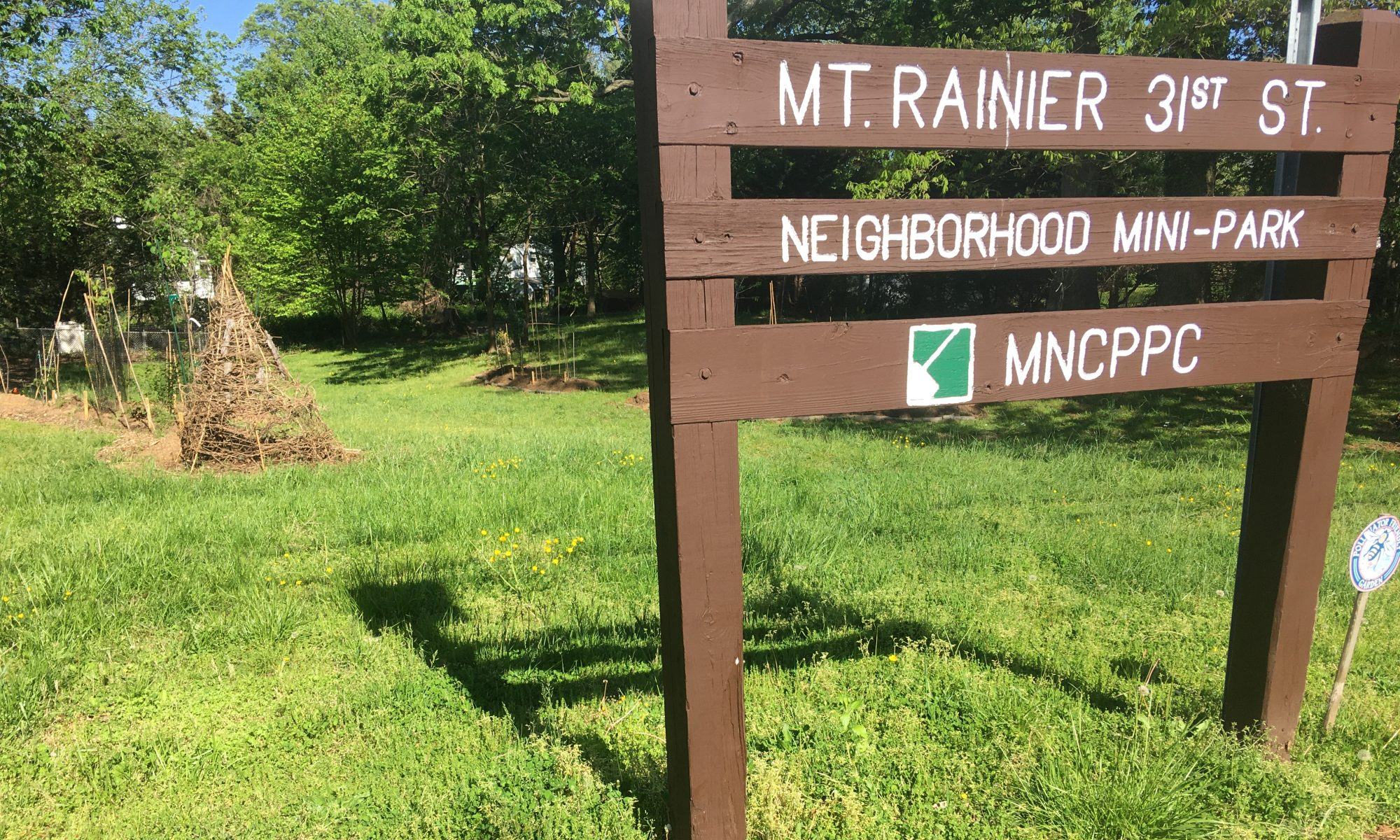 Mount Rainier, Maryland Community Food Forest